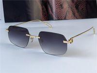 جديد أزياء الجملة النظارات الشمسية 0113 صغيرة خفيفة غير النظامية فرملس الرجعية avant-garde تصميم uv400 ضوء العدسات الملونة uv400 نظارات