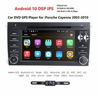7 '' Android 10 DSP IPS touch screen 2 auto din lettore multimediale Per GTS 2003-2010 GPS con BT SWC RDS DVD BPSP #