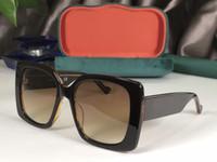 Vaka 0765S ile gel 6982 Güneş gözlüğü İçin Kadınlar Popüler Moda Yaz Stili ile Taşlar Üst Kalite UV Koruma Mercek