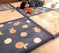 Alta Qualidade Baby Mat 2cm Playmat Crawl Pad Stitched Chlow Mat Splintered Família Crianças Espuma Espuma Tapetes