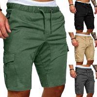 Mens de fret Shorts armée camouflage shorts tactiques hommes lâche travail casual pantalon court plus taille S-2XL