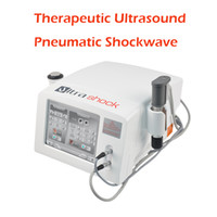 La thérapie par ondes de choc Machine thérapie Ultrashock vague 2 poignées de physiothérapie dans un système avec 12pcs Shockwave émetteurs