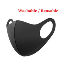 Party Masks Black Mouth Mask Reusable Masks 30x13cm Washable household Face Shield Facial Mask Cycling Masks Clean Cloth Bauta Mask