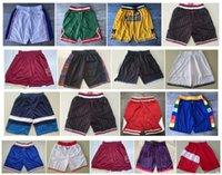 Üst kalite ! Michigan Wolverines Basketbol Şort Pantaloncini DA Sepet Spor Şort Sepet Koleji Pantolon Don Cebi Beyaz Siyah