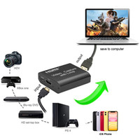 HD 1080P 4K HDMI Video Capture Card HDMI a USB 2.0 Video Capture Board Game Record Record Streaming Broadcast Local Loop Out