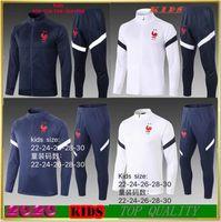 Maglia da allenamento 2 stelle calcio per bambini 19 20 Francia POGBA KANTE DEMBELE maglia da calcio 2018 2019 MBAPPE abbigliamento sportivo per bambini