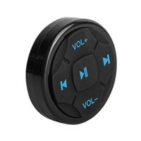 Balight Car Bluetooth Steering Wheel Mini Bluetooth 4.0 Car Remote Control Mobile Phone Remote Control