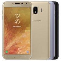 Recuperado Original Samsung Galaxy J4 J400F Dual SIM 5,5 polegadas Quad Core 16G / 32GB ROM 16MP Câmera Desbloqueado 4G LTE Smart Mobile 5pcs Telefone