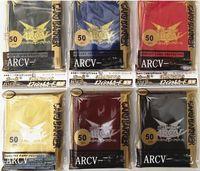 YuGiOh ARCV Duelist Carte Carte manches plate-forme de protection mélanger les couleurs
