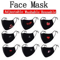 Pamuk Yüz Trump Seçim Sevimli Moda toz geçirmez Karşıtı Kirli Hava Ayarlanabilir Yıkanabilir Yeniden kullanılabilir Koruyucu Bisiklet Maskeler Maske Malzemeleri Maske DWF268
