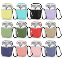 For Apple Airpods1&2 wireless version Silicone Case with Ant...