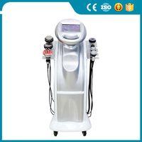 Bodyshaping Ultrasonic RF RF Vácuo 80K Cavitação Perda de Pesagem Body Slimming Beauty Machine Envio e Impostos FreeEne