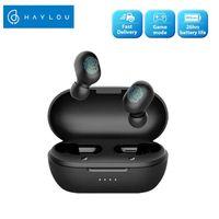 Youpin Haylou GT1 Pro estéreo batería grande TWS Bluetooth auriculares de control táctil inalámbrico de los auriculares HD con doble micrófono de aislamiento de ruido