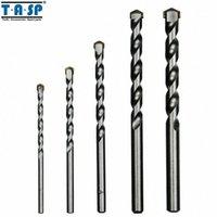 TASP 5pcs Maçonaria Brocas Tungsten Carbide Derrubado Concrete Drilling Set Tamanho 4/5/6/8/10 milímetros Power Tool Acessórios -MDBK018 L0ET #