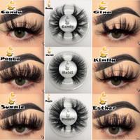 21 styles 3D Vison Cils maquillage pour les yeux Mink Faux cils doux naturel épais faux cils Lashes Eye 3D Extension Mink cils DHL gratuit