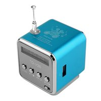 بلوتوث المتكلم المحمولة مصغرة TD-V26 مركبتي ستيريو الصوت مكبرات الصوت راديو FM TF U القرص فتحة متعددة المتكلم الصوت الرقمي MP3 + شاشة LCD ومربع التجزئة