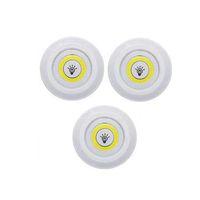 Pequena luz noturna Roupeiro Casa de Banho iluminação LED Regulável em gabinete de luz com bateria de controle remoto operado LED Closets Luzes