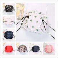 Vely ленивый косметический мешок Flamingo Unicorn печать Drawstring мешок макияж большие девочки сумки для путешествий Портативный косметический мешок 6 стилей ST704