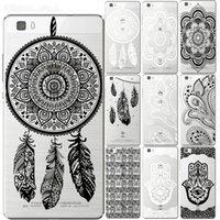 Mandala floral del cordón del caso para Huawei Coque P8 P9 P10 P20 P30 Lite Plus mate 10 Y5 Y6 Y7 II Y3 2017 Honor 9 6X 7X cubierta Pro Teléfono