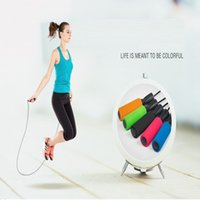 Equipamento do exercício ajustável Boxing Skipping Desporto pular corda Bearing Skip Rope Cord velocidade condicionamento aeróbico Jumping YDL047
