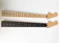 Fabrik Special Sale Linkshänder 6 Saiten E-Gitarren-Hals mit 22 Bünde, zwei Arten verfügbar, kann als angefordert anpassen