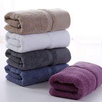 الكبار ثخن غسل الوجه منشفة 100٪ القطن الخالص سميكة لينة طويل التيلة من القطن منشفة الرئيسية 5 ألوان خفيفة عالية ماص VT1401