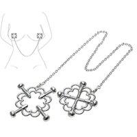 Pinces à seins Nipple Stimulateur sein Clips érotiques en acier inoxydable Jouets Sextoys pour couple femmes adultes Jeux SM Flirt