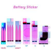 Bateria adesiva adesivo cola fita dupla face para iphone 5s 6 6 p 6s mais 6SP 7 7 p 8 8 pg x ps xr xs max bater bateria adesivo