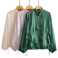 Moda mujeres otoño top manga larga casual liso chaqueta elegante señoras sólido abrigo femme suelto streetwear
