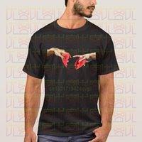 Lettbao مايكل أنجلو T قميص كل مباراة الصيف الأعلى مضحك مطبوعة أوم الأساسية عارضة الرجال والنساء قطعة القطن المحملات قصيرة O-الرقبة