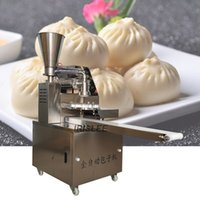 De haute qualité commerciale des ménages 220V / 110V automatique en acier inoxydable Stuffed Bun machine étuvé chinois Baozi formulaire Maker