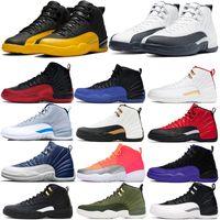 جامعة الذهب 12 12 ثانية رجل كرة السلة أحذية الانفلونزا لعبة عكس سيارات الأجرة مباراة حذاء قزحي الألوان العاكس الرجال الرياضة المدربين
