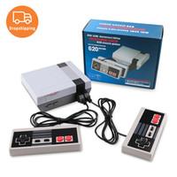 드롭 배송 620 게임 콘솔 레트로 가족 게임 NES 컨트롤러 TV 출력 키즈 아이 크리스마스 선물 어린 시절의 추억을위한 비디오 게임