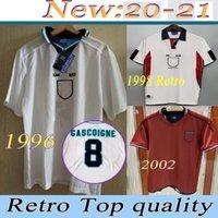 1996 1998 Retro Englaus ND Manchester 2000-2001 Leeds Fussball Jersey Home White Football Shirt Shearer Sheringham Beckham Owen Scholes Jersey