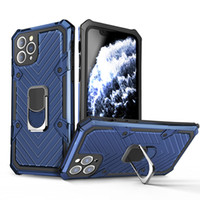 NUOVO ANELLO GALCKSTAND PHONE CASSE MAGNET Auto Mount Shell per iPhone 13 Mini 12 Pro MAX 11 x XS XR 7 8 PLUS SE