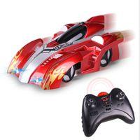 2020 Wireless eléctricos remotos Juguetes Race control de la deriva que destellan para niños RC muro de escalada de coches de juguete modelo de ladrillos Mini