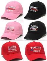 DHL Gemi, 2 Stiller Nakış Pamuk Ayarlanabilir Nefes Şapka Trump 2020 Tut Amerika Büyük Beyzbol şapkası Açık Kadın Erkek Caps FY6064