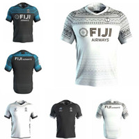 2020 Fiji Home Away Rugby Jersey Sevens قميص أولمبيال تايلاند الجودة 18 19 20 فيجي National 7 s Rugby Jersey S-3XL