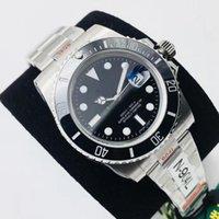 N + 3A 고품질 럭셔리 남성 자동 기계식 시계 패션 스포츠 사파이어 미러 세라믹 링 V10 ETA3135 ETA2836 방수 100m