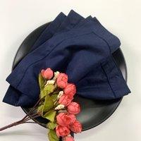 240 PCS Jantar cores guardanapos de linho com Hemstitched Tabela Guardanapos Vintage Tea Guardanapos para jantar 20x20 polegadas