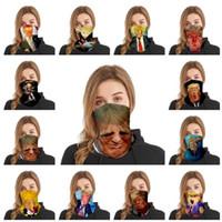 Moda Trump Máscara Trump Mulheres Scarf Magia e homens adultos multi funcionais Sports equitação máscara máscaras partido IIA261