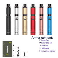 New 6 Colors Yocan Armor Wax Vape Pen With 380mah Variable V...