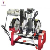 Manuelle heiße Schmelze hydraulisch Zwei Ring-Docking-Maschine PE / PPR / PB / PVDF-Rohrzäherschweißmaschine
