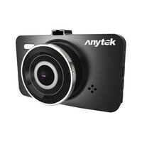 Anytek A78 1296P سيارة DVR كاميرا مزدوجة العدسة IPS 3 بوصة كاملة HD فيديو Registrator للرؤية الليلية سيارة مسجلة مسجلات الفيديو الرقمية