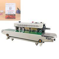 Bolsa CALIENTE automática continua de película de plástico sellado de la máquina Pa0ckaging máquina rápida sellado de la máquina de impresión Fecha de Alimentos