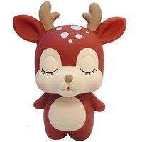 Novo criativo Adorável para Logo Crianças dos desenhos animados Toy Design Animal Piggy Bank personalizada para presentes de lembrança