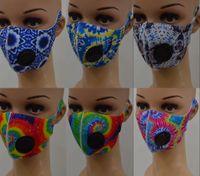 大量のアイスシルク花の印刷のフェイスマスク付加価値洗える保護防止マスクポリエステルのフェイスマスクFY0066