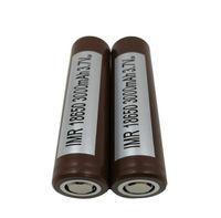 50PCS Top de haute qualité pour HG2 18650 Batterie 3000mAh 35A Débit max Vape Égoutter Batteries au lithium haute rechargeables 25R VTC5 VTC4 HE2 HE4
