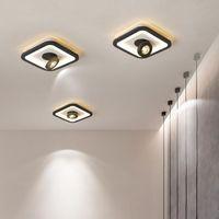 COB LED Встраиваемый Потолочный светильник 13W 15W Накладные светодиодные потолочные лампы Пятно света 360 градусов вращения LED вниз света