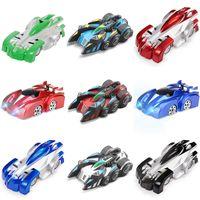 RC Car Wall Racing Juguetes Techo Subida a través del control remoto Electric 360 Rotating Control Modelo de juguete Regalo de Navidad para niños